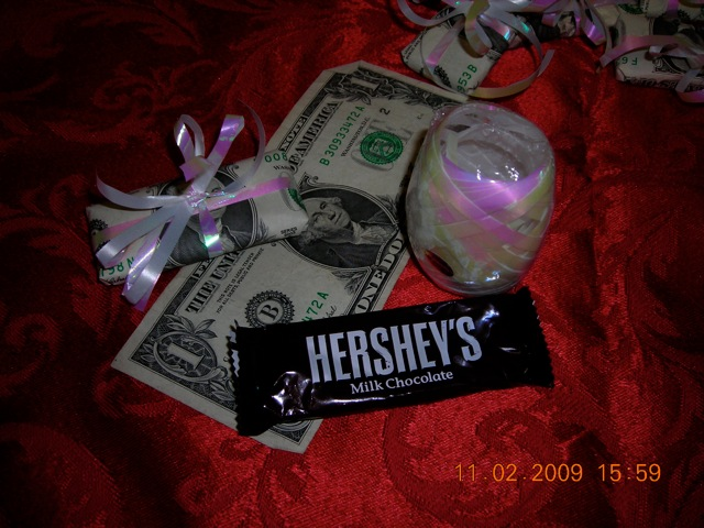 unwrapped candy