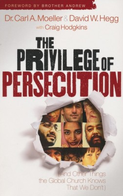 Faces from around the world on the cover of The Privilege of Persecution