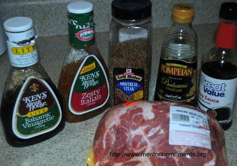 crockpot pulled pork ingredients