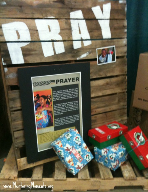 OCC prayer board / photo by Kellie Renfroe