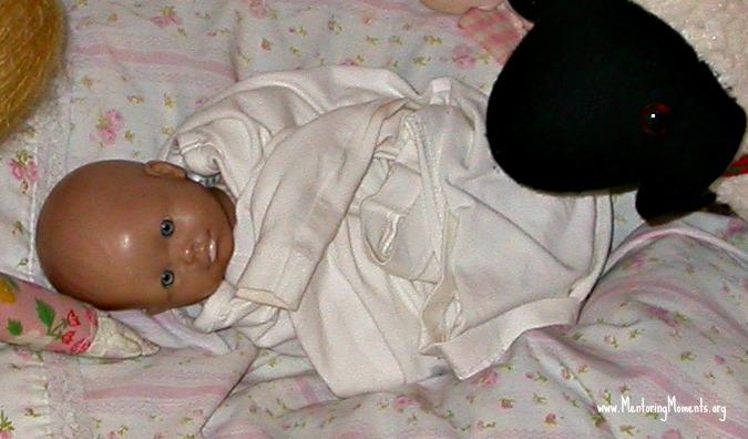 Baby Amy / photo by Ann Stewart