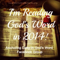 Anchoring Deep in God's Word 2014