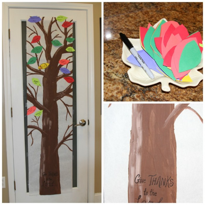 A Thankfulness Tree