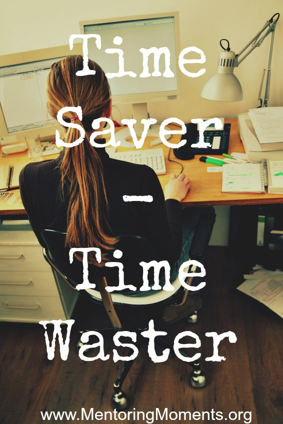Time Saver - Time Waster