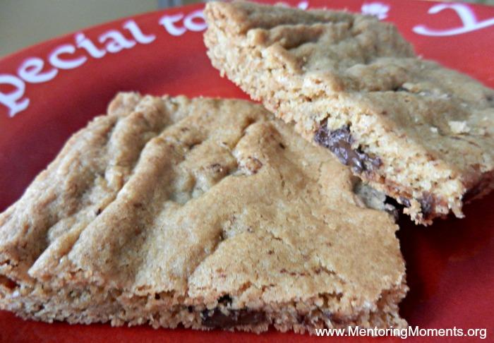Gluten-Free Chocolate Chip Bars