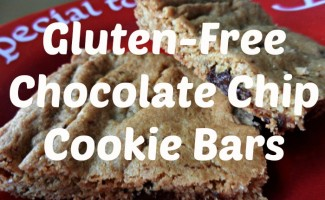 Gluten-Free Chocolate Chip Bars