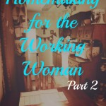 Homemaking for the Working Woman / photo by Emily Beth Davidson