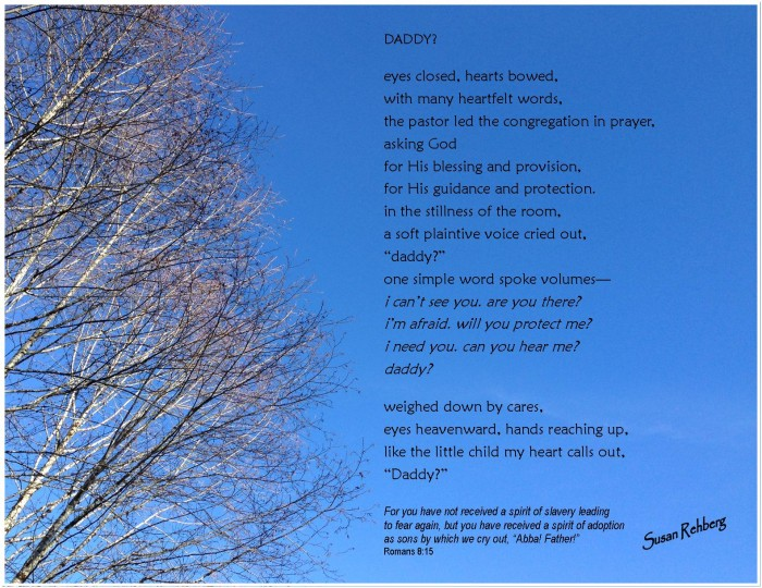 Daddy / graphic by Susan Rehberg