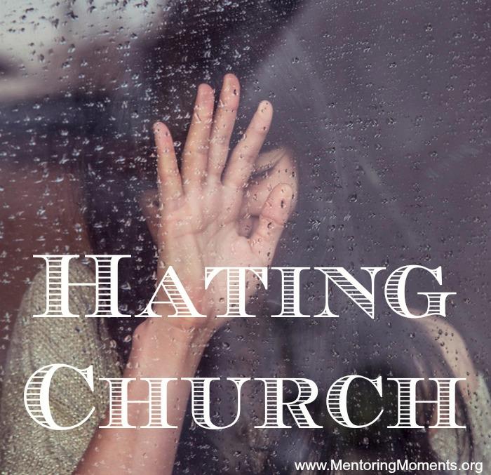 Hating Church / photo source: Unsplash.com