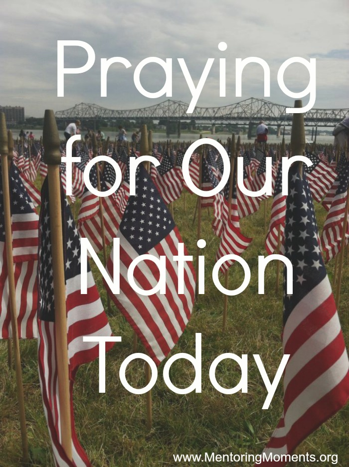 Praying for Our Nation Today / photo by Page Hughes