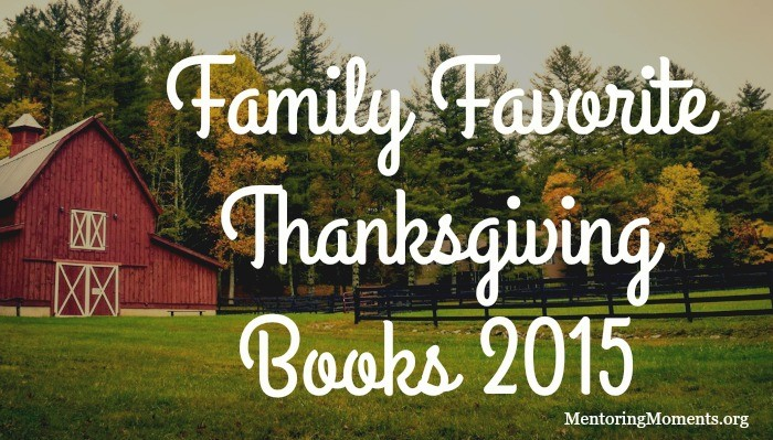 Family Favoriate Thanksgiving Books 2015