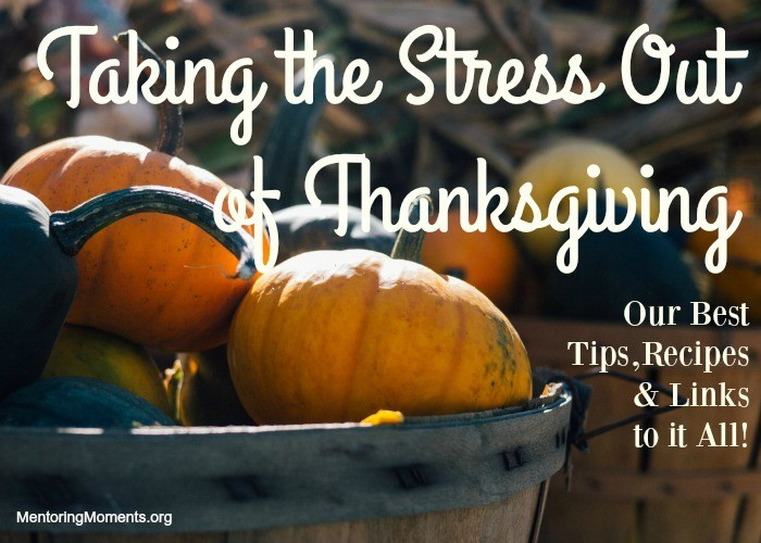 Taking the Stress Out of Thanksgiving