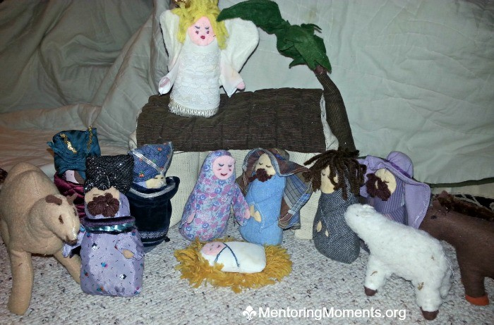Cloth Nativity