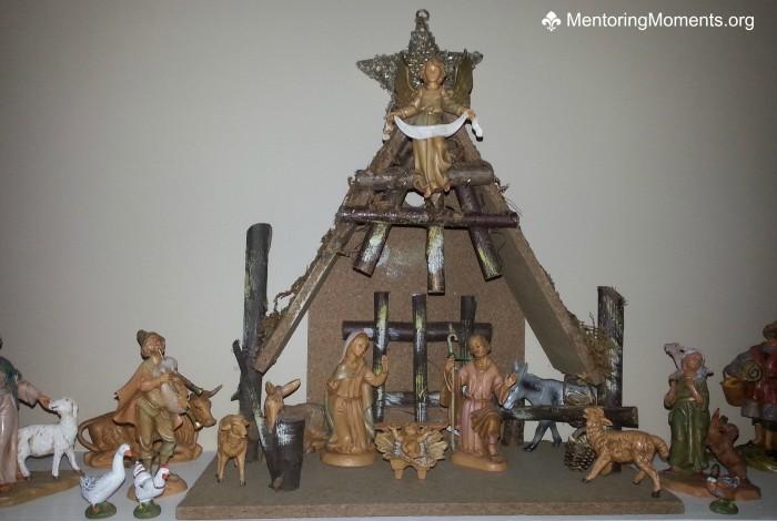 Mantel Nativity