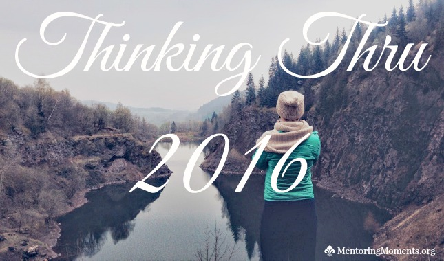 Thinking Thru 2016