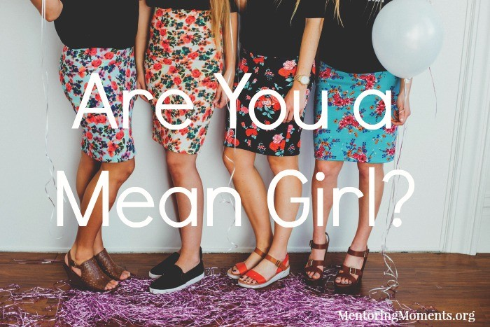 Are You a Mean Girl