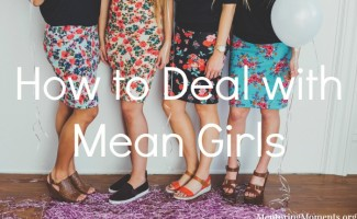 How to Deal with Mean Girls