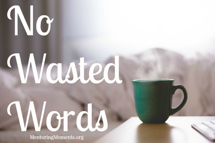 Now Wasted Words