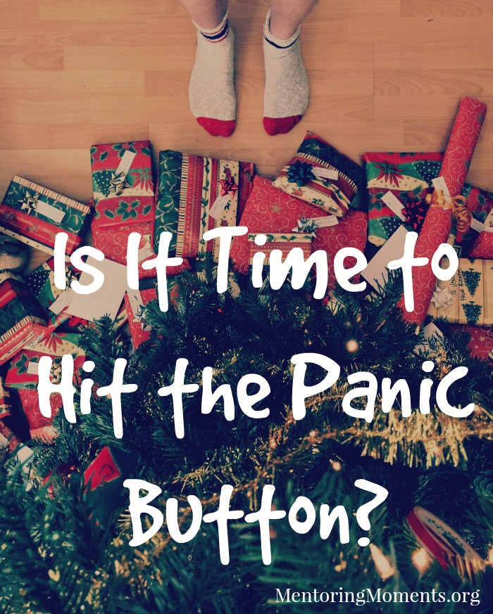 Is it Time to Hit the Panic Button?